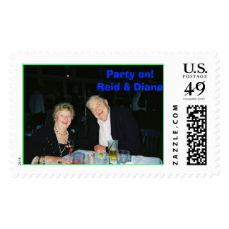 Reid & Diane Postage Stamp