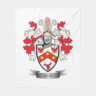 Reid Family Crest Coat of Arms Fleece Blanket