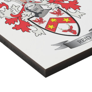 Reid Family Crest Coat of Arms Panel Wall Art