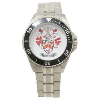 Reid Family Crest Coat of Arms Wristwatch