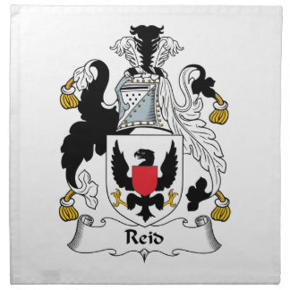 Reid Family Crest Napkin