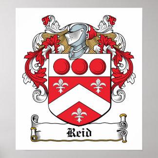 Reid Family Crest Poster