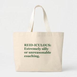 Reid-iculous Jumbo Tote Bag