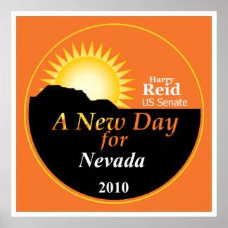 REID Nevada 2010 Poster Print