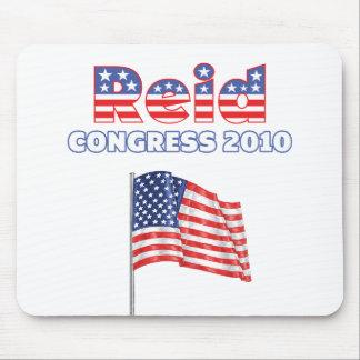 Reid Patriotic American Flag 2010 Elections Mousepad