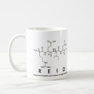 Reid peptide name mug