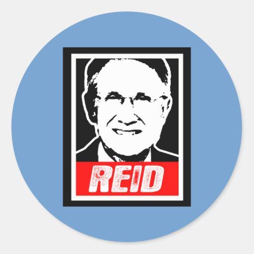 REID ROUND STICKER