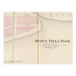 Reid's Villa Park, NJ Postcard