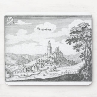 Reiffenberg copper engraving mouse pads