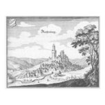 Reiffenberg copper engraving post card