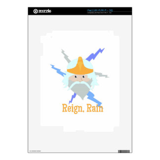 Reign. Rain Decals For iPad 2