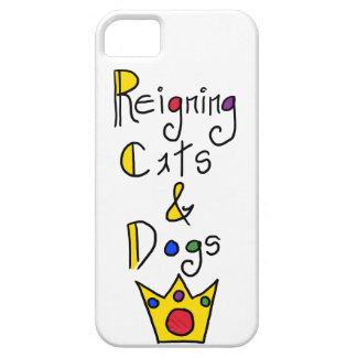 Reigning Cats and Dogs iPhone SE/5/5s Case