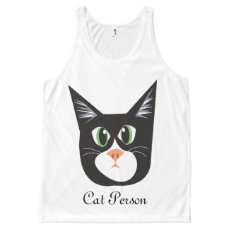 Reigning Cats & Dogs_Cat Person All-Over-Print Tank Top