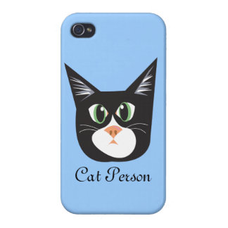 Reigning Cats & Dogs_Cat Person iPhone 4/4S Cover