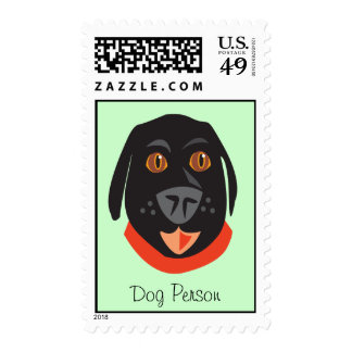 Reigning Cats & Dogs_Dog Person postage