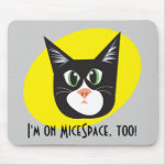 Reigning Cats & Dogs_Furry Faces_I'm on MiceSpace mousepad