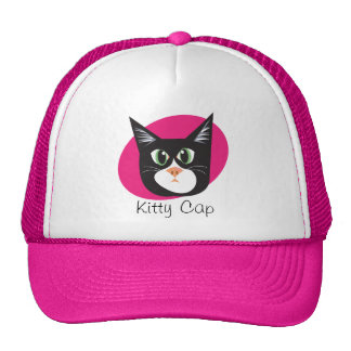 Reigning Cats & Dogs_Furry Faces_Kitty Cap Trucker Hat