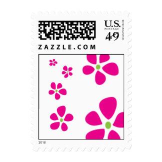 """Reigning Petals"" Postage Stamp"