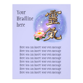 reiki2, YourHeadlinehere, Here you can insert y... Flyer