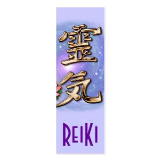 ReiKi Bookmark Mini Business Card