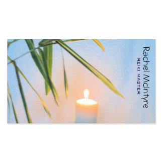 Reiki Double-Sided Standard Business Cards (Pack Of 100)