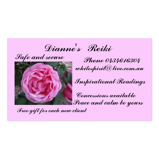 Reiki Business Card Zazzle