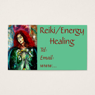 Reiki/Energy Healing Business Card