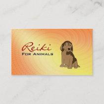 Reiki for Animals Business Cards