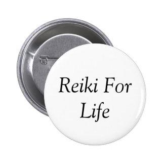 Reiki For Life Button