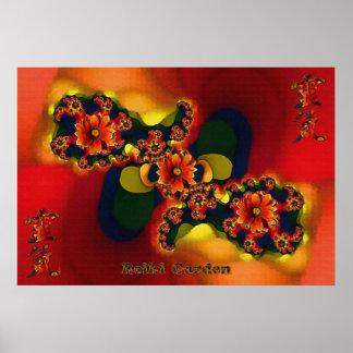 Reiki Garden Poster