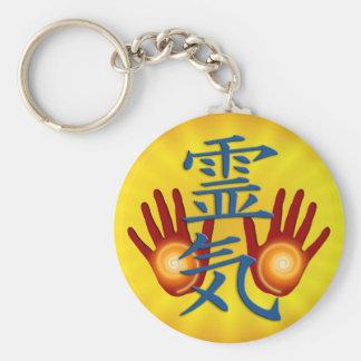 Reiki Hands Keychain