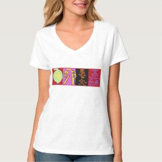 Reiki Healing art symbols  VNECK CHoice shirt