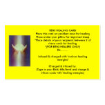Reiki Healing Card Pack Of Standard Business Cards