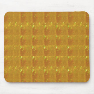 REIKI Healing Gold : Symbols Signs CRYSTAL Gold Mouse Pad
