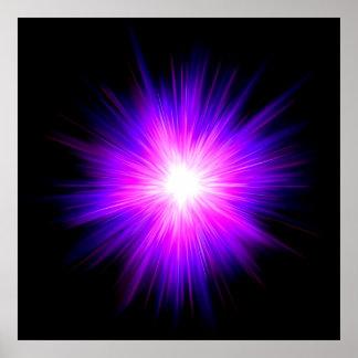 Reiki healing healer flame energy chakra energy print