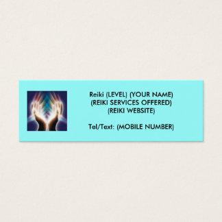 Reiki/Healing Mini Business Card