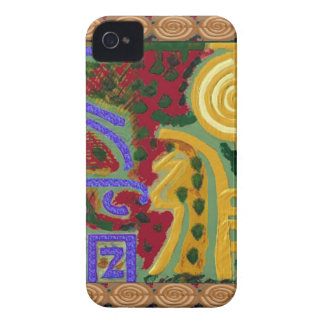 Reiki Healing Symbols by Navin Joshi Artist Canada iPhone 4 Cover