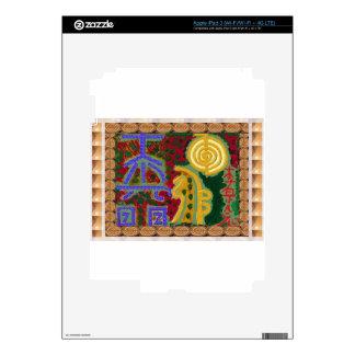 Reiki Healing Symbols by Navin Joshi Artist Canada Skins For iPad 3