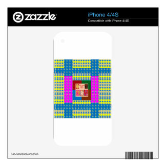 REIKI Healing Symbols on Full Energy Mandala Color iPhone 4S Skins