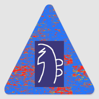 REIKI Healing Symbols  TEMPLATE Health Wellbeing Triangle Sticker