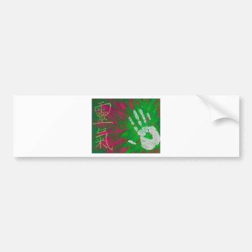 Reiki - Healings Hand Bumper Sticker