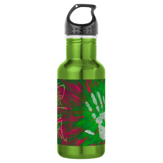 Reiki - Healings Hand Stainless Steel Water Bottle