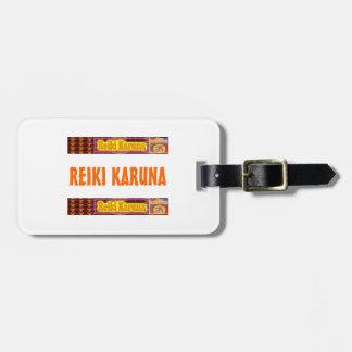 REIKI Karuna Etiqueta De Equipaje