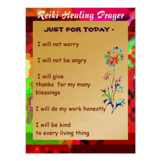 REIKI Karuna Healing Master's Symbols Posters