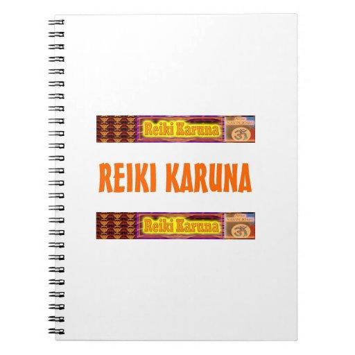 REIKI Karuna Libro De Apuntes Con Espiral