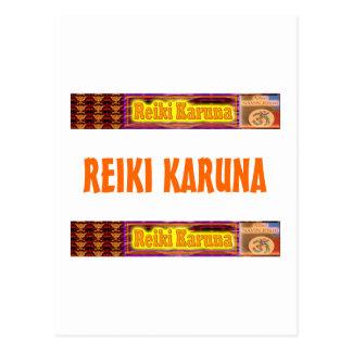 REIKI Karuna Postcard