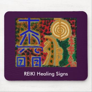 REIKI Main Healing Symbols3 Mousepads