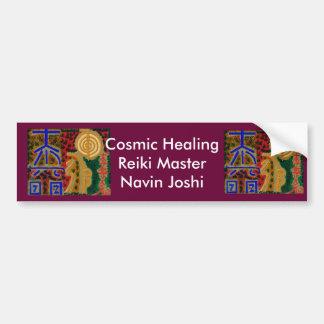 REIKI Main Healing Symbols Car Bumper Sticker