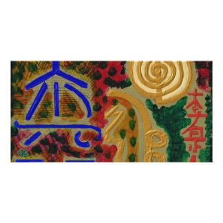 REIKI Main Healing Symbols Card