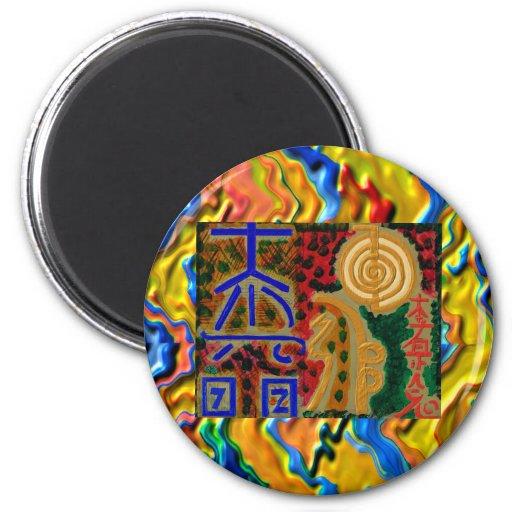 REIKI Main Healing Symbols Refrigerator Magnet